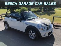 2011 MINI CONVERTIBLE 1.6 ONE 2d 98 BHP £5250.00