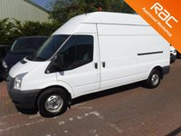 USED 2013 13 FORD TRANSIT 2.2 350 H/R 1d 153 BHP LONG WHEEL BASE HIGH ROOF