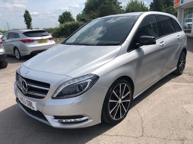 2013 63 MERCEDES-BENZ B CLASS 1.8 B180 CDI BLUEEFFICIENCY SPORT 5d AUTO 109 BHP