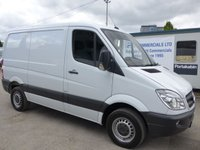 2012 MERCEDES-BENZ SPRINTER 313 CDI SWB LOW ROOF, AIR CON, FRONT FOGS LIGHT £SOLD
