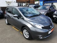 2015 NISSAN NOTE 1.2 ACENTA 5d 80 BHP £7495.00