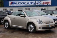 2014 VOLKSWAGEN BEETLE 1.6 DESIGN TDI BLUEMOTION TECHNOLOGY 2d 104 BHP £10180.00