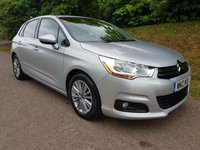 2012 CITROEN C4 1.6 VTR PLUS HDI 5d 91 BHP £SOLD