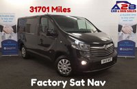 USED 2015 15 VAUXHALL VIVARO 1.6 2700 SWB CDTI Sportive 120 BHP BI-Turbo with Touchscreen Sat Nav *Over The Phone Low Rate Finance Available*   *UK Delivery Can Also Be Arranged*           ___________       Call us on 01709 866668 or Send us a Text on 07462 824433