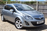 USED 2014 14 VAUXHALL CORSA 1.4 SXI AC 5d 98 BHP Free 12  month warranty