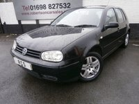 USED 2002 52 VOLKSWAGEN GOLF 2.0 GTI 5dr PART EXCHANGE TO CLEAR