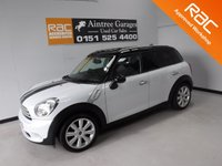USED 2011 11 MINI COUNTRYMAN 1.6 COOPER D 5d 112 BHP FULL BLACK LEATHER NEW IN