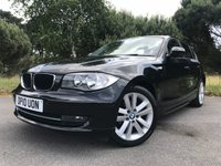 """USED 2010 10 BMW 1 SERIES 2.0 116D SPORT 5d 114 BHP ONLY 2 OWNERS!! GREAT CONDITION!! DIESEL!! HEATED FRONT SEATS!! 17"""" ALLOYS!!"""
