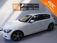 USED 2011 61 BMW 1 SERIES 2.0 118D SE 5d 141 BHP 5 MAIN DEALER HISTORY  COMFORT PACK   ALLOYS IN GLEAMING ALPINE WHITE