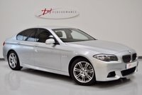 2013 BMW 5 SERIES 3.0 530D M SPORT 4d AUTO 255 BHP £13950.00