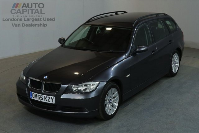 2005 55 BMW 3 SERIES 2.0 320D SE TOURING 161 BHP A/C 2 OWNER FROM NEW, MOT UNTIL 15/10/2018