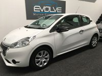 USED 2014 14 PEUGEOT 208 1.0 ACCESS 3d 68 BHP