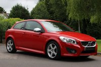 USED 2012 62 VOLVO C30 2.0 R-DESIGN 3d 143 BHP