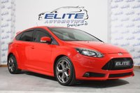 USED 2013 63 FORD FOCUS 2.0 ST-3 5d 247 BHP STAGE 1/ FULL FORD SERVICE HISTORY / DRIVERS ASSISTANCE PACK / ST STYLE PACK / DAB NAVIGATION WITH REAR CAMERA / HUGE SPEC AND BIG POWER!!