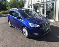 USED 2016 16 FORD GRAND C-MAX 1.0 TITANIUM NAVIGATOR ECOBOOST 125 BHP THIS VEHICLE IS AT SITE 1 - TO VIEW CALL US ON 01903 892224