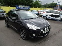 USED 2014 64 CITROEN DS3 1.6 DSTYLE PLUS 3d AUTO 120 BHP ONLY 4,000 MILES,LOVELY SPEC !!