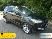 "USED 2015 15 FORD KUGA 2.0 TITANIUM X TDCI 5d 148 BHP Fantastic High Spec Ford Kuga Titanium X with Full Leather, Glass Panoramic Roof, Climate Control, Cruise Control, 18"" Alloy Wheels and Ford Service History"