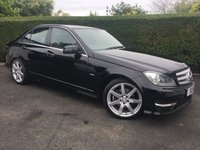 2011 MERCEDES-BENZ C CLASS 2.1 C220 CDI BLUEEFFICIENCY SPORT 4d AUTO 168 BHP, IDEAL SIZE FAMILY CAR AND VERY ECONOMICAL  £7750.00
