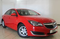 USED 2015 15 VAUXHALL INSIGNIA 2.0 DESIGN NAV CDTI ECOFLEX S/S 5DR 138 BHP FULL SERVICE HISTORY + SAT NAVIGATION + BLUETOOTH + CRUISE CONTROL + MULTI FUNCTION WHEEL  +AUXILIARY PORT + 16 INCH ALLOY WHEELS
