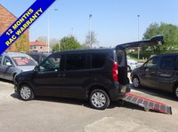 USED 2013 13 FIAT DOBLO 1.4 MYLIFE 5d 95 BHP Over 50 Wheelchair Access Vehicles in stock