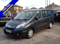 USED 2012 62 PEUGEOT EXPERT 2.0 HDI TEPEE LEISURE L2 5d 128 BHP 5 SEATS + WHEELCHAIR ACCESSIBLE VEHICLE