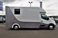 USED 2013 13 VAUXHALL MOVANO 2.3 F3500 L3H3 CDTI 100 BHP HORSE BOX  *** NEWLY CONVERTED HORSE BOX - 3.5T ***