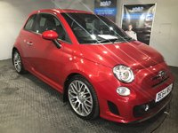 USED 2014 64 ABARTH 500 1.4 ABARTH 3d 135 BHP Blue & Me handsfree phone system : Quality hand-stitched leather upholstery     :     Climate Control / Air-Conditioning     :       SPORT Button      :      Rear parking sensors      :      Just 1 previous private owner      : Serviced at an Abarth authorised service centre