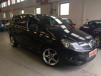 2011 VAUXHALL ZAFIRA 1.8 SRI XP 5d 138 BHP £5995.00