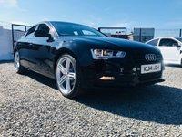 2014 AUDI A5 2.0 SPORTBACK TDI 5d 134 BHP S/LINE BLACK EDITION STYLE £12395.00