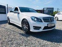 2013 MERCEDES-BENZ C CLASS 2.1 C220 CDI BLUEEFFICIENCY AMG SPORT PLUS 4d AUTO 168 BHP £11750.00