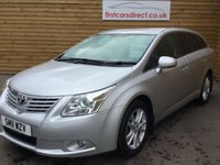 USED 2011 11 TOYOTA AVENSIS 2.2 TR D-4D 5d 148 BHP