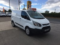 2014 FORD TRANSIT CUSTOM 270 2.2 ECONETIC **DIRECT NHS**ONLY 23,000 MILES**FSH** £9995.00