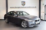 USED 2015 64 BMW 3 SERIES 2.0 320D M SPORT 4DR 181 BHP + FULL LEATHER INTERIOR + EXCELLENT SERVICE HISTORY + 1 OWNER FROM NEW + SATELLITE NAVIGATION + BLUETOOTH + CRUISE CONTROL + LIGHT PACKAGE + DAB RADIO + AUTO AIR CONDITIONING + RAIN SENSORS + PARKING SENSORS + 18 INCH ALLOY WHEELS +