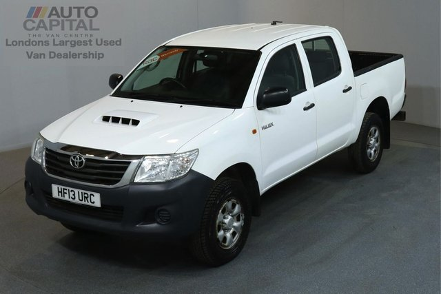 2013 13 TOYOTA HI-LUX 2.5 HL2 4X4 142 BHP MWB A/C ONE OWNER FROM NEW, FULL SERVICE HISTORY