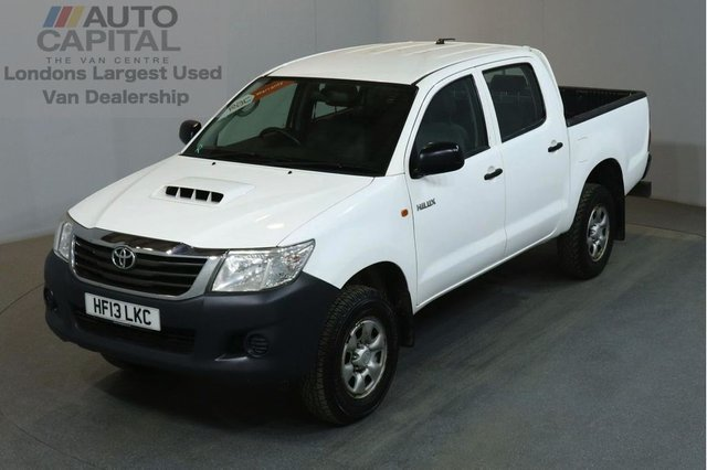 2013 13 TOYOTA HI-LUX 2.5 HL2 4X4 D-4D DCB 4d 142 BHP AIR CON DIESEL MANUAL LIGHT UTILITY PICK UP AIR CONDITIONING / BARGAIN PRICE