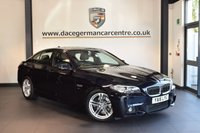 USED 2016 16 BMW 5 SERIES 2.0 520D M SPORT 4DR AUTO 188 BHP with manufactures warranty + FULL LEATHER INTERIOR + FULL SERVICE HISTORY + 1 OWNER FROM NEW + SATELLITE NAVIGATION + BLUETOOTH + HEATED SPORT SEATS + DAB RADIO + CRUISE CONTROL + PARKING SENSORS + 18 INCH ALLOY WHEELS +