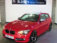 2012 BMW 1 SERIES 2.0 116D SPORT 3dr £8990.00