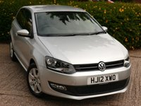 USED 2012 12 VOLKSWAGEN POLO 1.4 MATCH DSG 3d AUTO 83 BHP