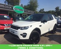 2017 LAND ROVER DISCOVERY SPORT 2.0 TD4 HSE BLACK 5d AUTO 180 BHP £33989.00