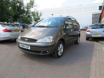 2001 FORD GALAXY 1.9 GHIA TDI 115 BHP AUTO £890.00