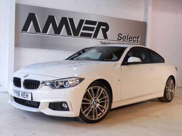 2016 16 BMW 4 SERIES 2.0 420D M SPORT 2d 188 BHP
