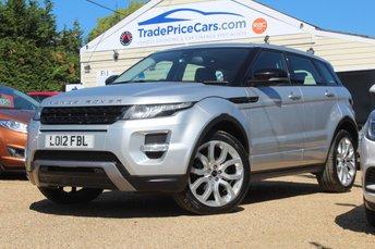 2012 LAND ROVER RANGE ROVER EVOQUE 2.0 SI4 DYNAMIC 5d AUTO 240 BHP £22450.00