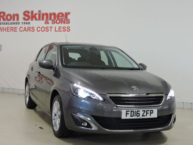 View our 2016 16 PEUGEOT 308 1.6 BLUE HDI S/S ALLURE 5d 120 BHP