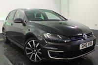 2016 VOLKSWAGEN GOLF 1.4 GTE NAV DSG 5d AUTO 201 BHP £18995.00
