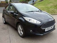 USED 2013 13 FORD FIESTA 1.5 ZETEC TDCI 5d 74 BHP 1 PREVIOUS KEEPER +  SERVICE RECORD +   FULL YEAR MOT +  MEDIA CONNECTIVITY +