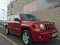 2010 JEEP PATRIOT 2.1 CRD SPORT PLUS 5d 161 BHP £5695.00