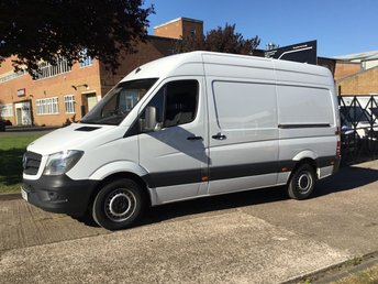 2015 MERCEDES-BENZ SPRINTER 2.1 313CDI MWB HIGH ROOF 130BHP. 1 OWNER. MERC WARRANTY. £9990.00