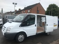 2007 FORD TRANSIT 2.2 260 SWB LR 110 1d 110 BHP NO VAT JUST 67K!!!!  £4450.00
