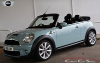 2011 MINI CONVERTIBLE 2.0D COOPER S CONVERTIBLE 141 BHP £SOLD