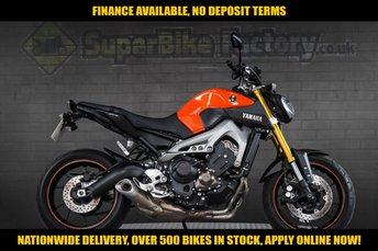 2014 14 YAMAHA MT-09 850CC  £5091.00
